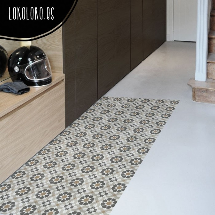 Printed Ceramic Vinyl To Floors Lokoloko