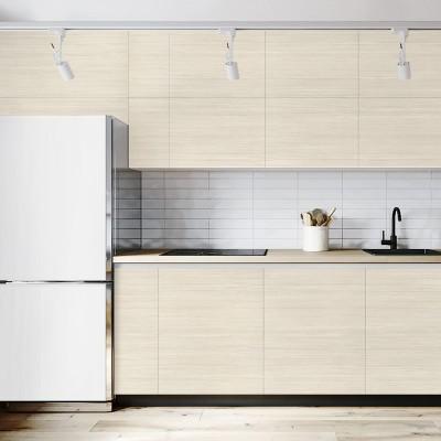 Vinilo adhesivo, opaco y lavable, madera de estilo nórdico. Para todo tipo de muebles, paredes y superficies. lokoloko