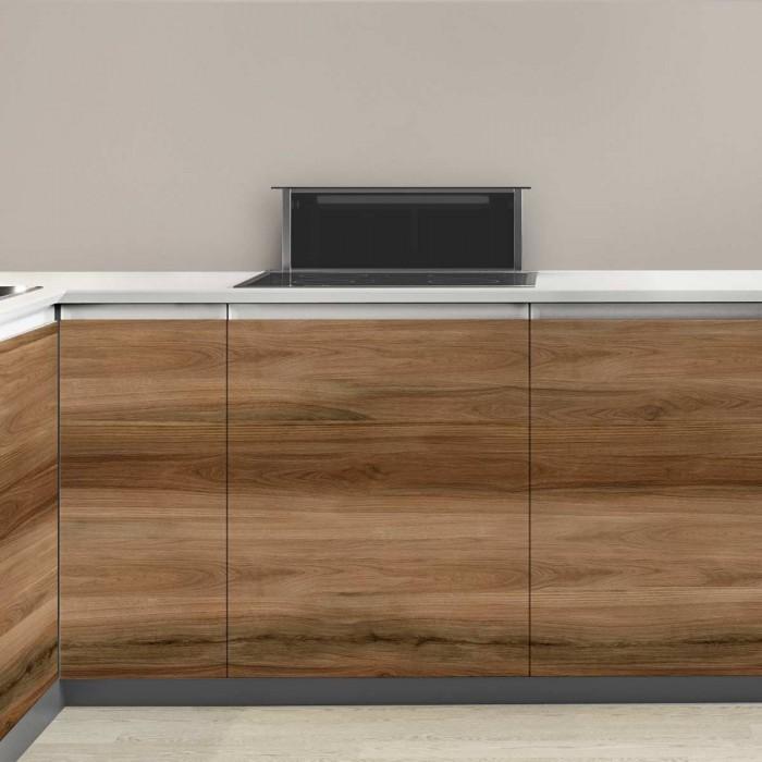 Madera Cambara - vinilo lavable autoadhesivo opaco para muebles de cocina, puertas o frentes
