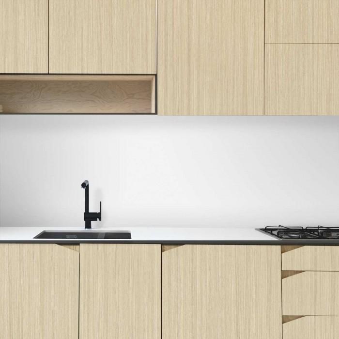 warm japandi Wood - Washable vinyl self-adhesive for furniture kitchen