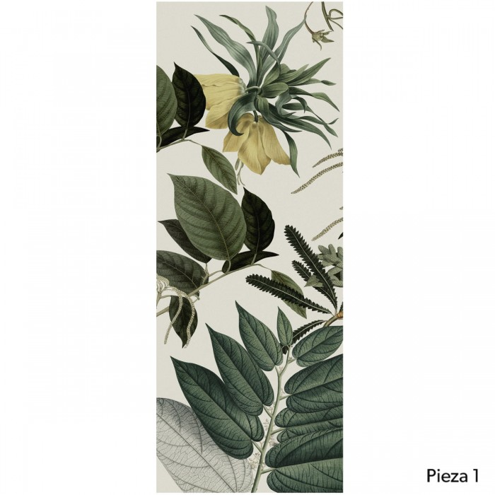 Velvet Flowers- piece 1 - self-adhesive free pvc ecological. Botanical style