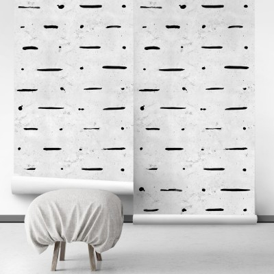 Mudcloth Paint Concrete self-adhesive free pvc ecological. industrial, wabi-sabi, bedroom, hall, salon. Background cement