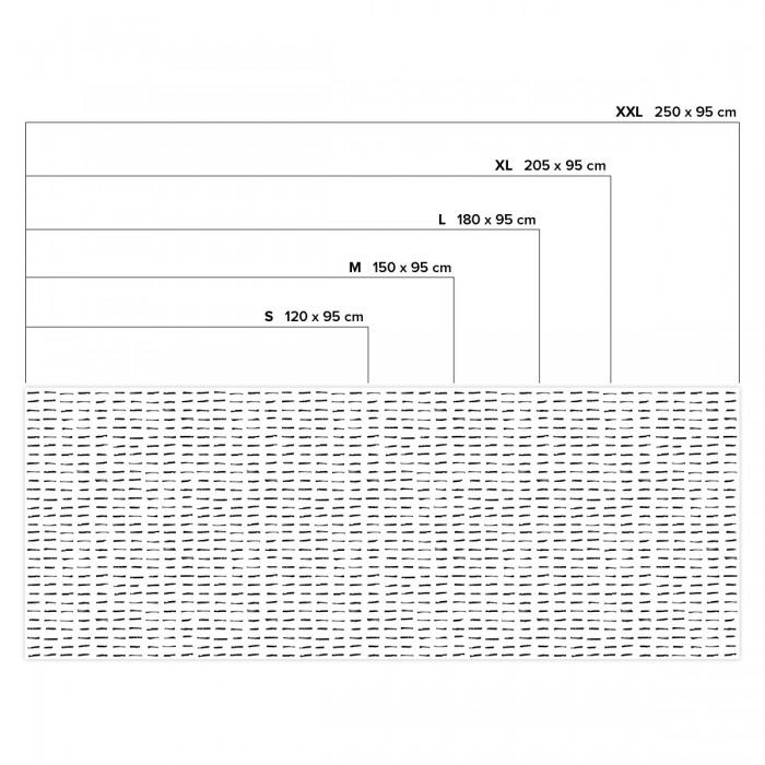 Brush horizontal - Horizontal sizes