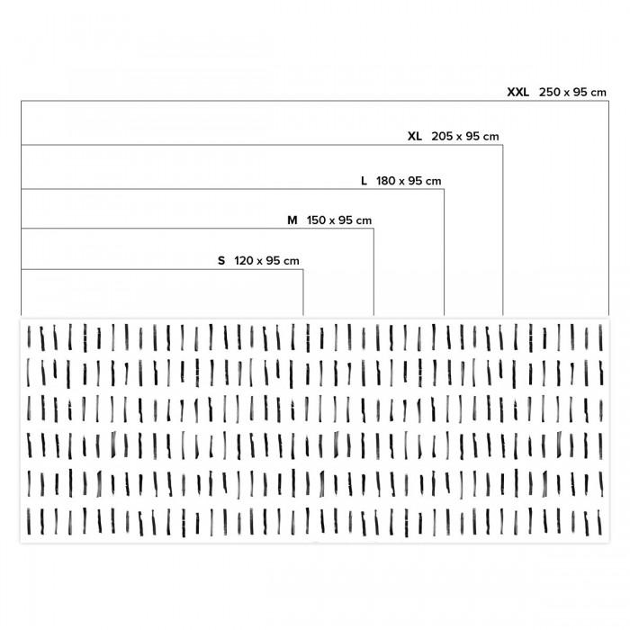 Brush vertical mini - Horizontal sizes