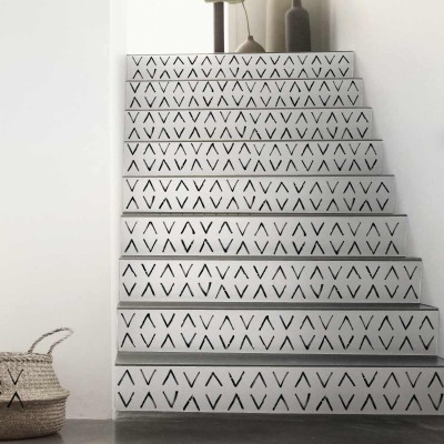 African Mudcloth Mini - Selfadhesive vinyl for furniture, floor and wall