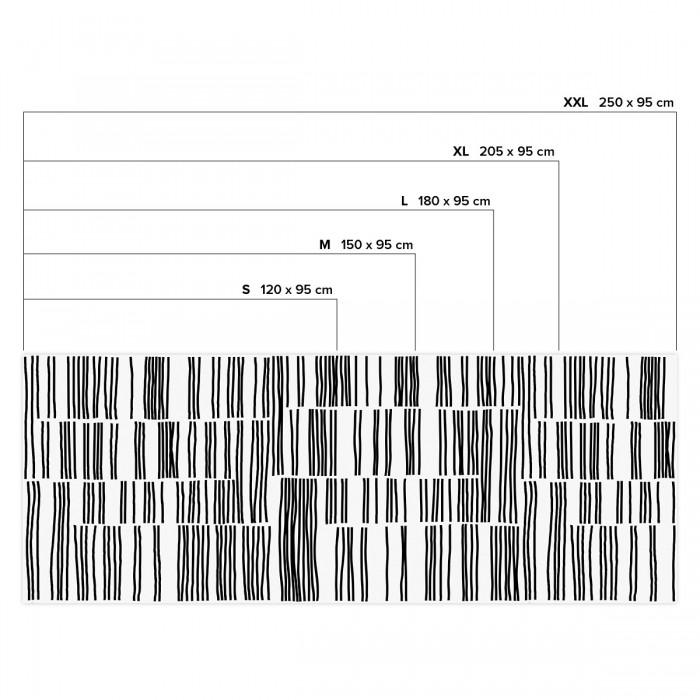 Overlap - Horizontal sizes