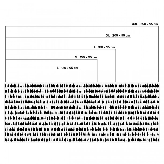 Drops - Horizontal sizes