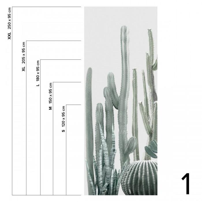 Cactarium- piece 1 - Washable self-adhesive vinyl for walls kitchen and furniture bathroom