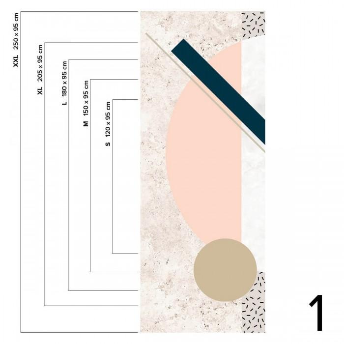 Memphis Polar - Piece 1 - Señfadhesive vinyl for kitchen and bathroom wall. Lokoloko