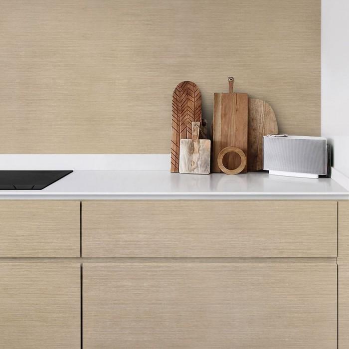 Wabi Olmo Wood  - Washable vinyl self-adhesive for furniture and walls kitchen