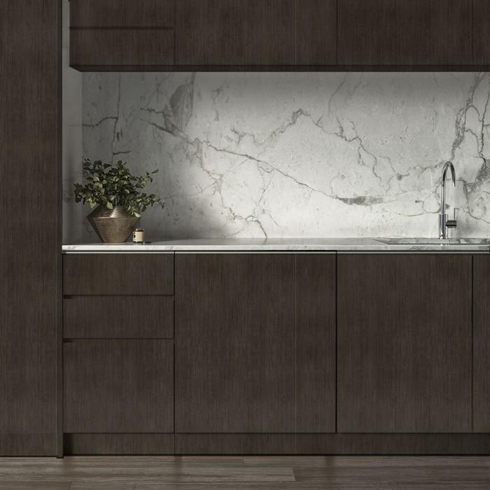 Dark Koto Wood  - Washable vinyl self-adhesive for furniture and walls