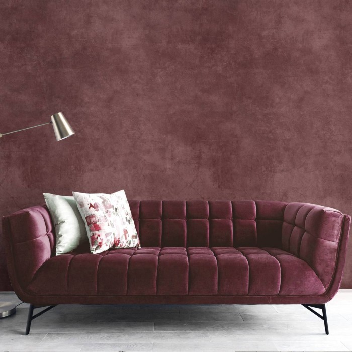 Tinto Concrete - washable self-adhesive opaque vynil for furniture and walls hall salon living room