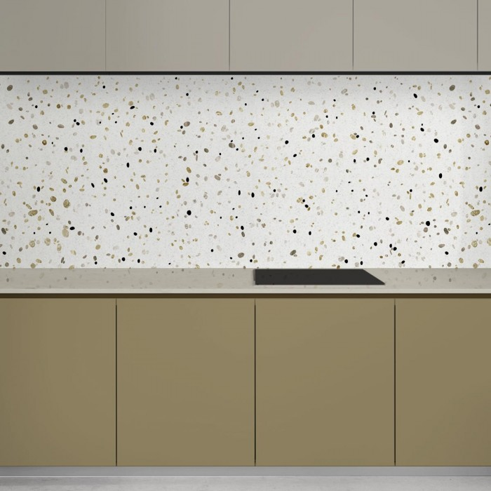 African Terrazzo - opaque self-adhesive washable vinyl for furniture, walls, floors, kitchen fronts, lokoloko