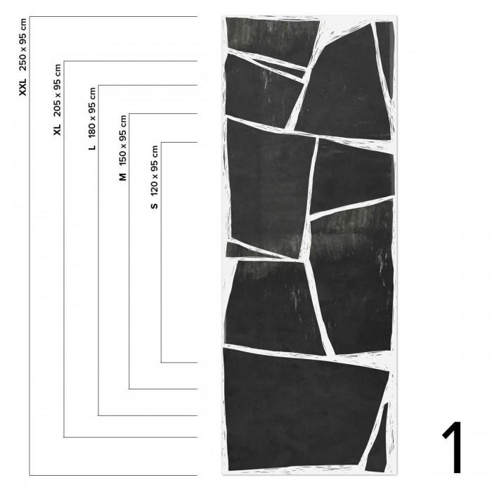 Abstraction Mural - measures 1 washable self adhesive vinyl for furniture walls loko loko