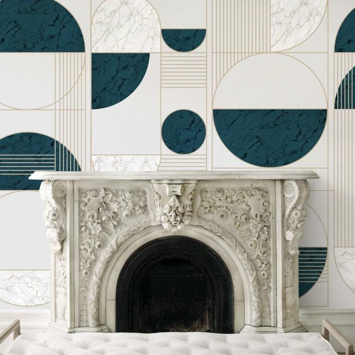 Milan- pvc-free ecological self-adhesive paper for halls halls hotels hostels loko loko