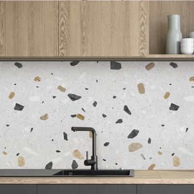 Pesaro Terrazzo  - washable self-adhesive opaque vynil for furniture, floor and walls kitchen bathroom lokoloko