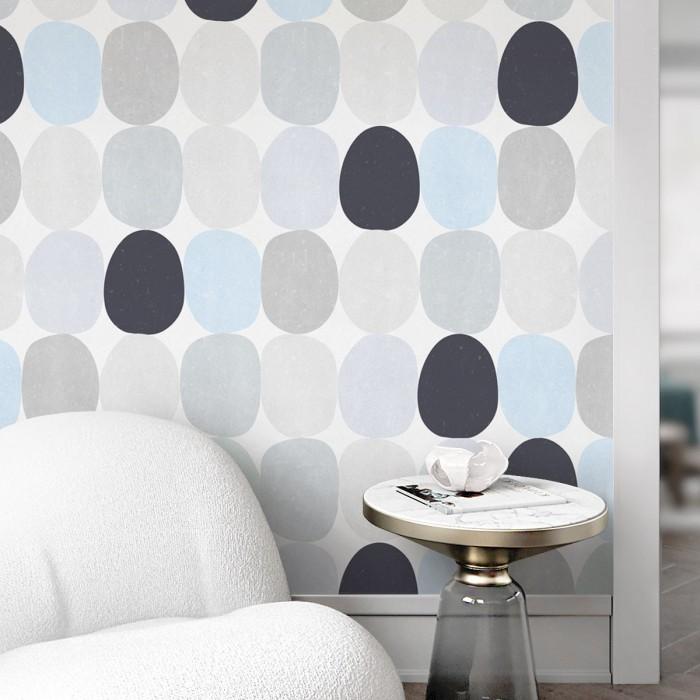 Spheres cold washable self-adhesive vinyl modern laminate for furniture walls floors tiles toilets showers gotele lokoloko