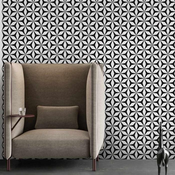 Abstract Hexagons 3 washable self adhesive vinyl for furniture walls floors kitchens toilets bedrooms living rooms lokoloko