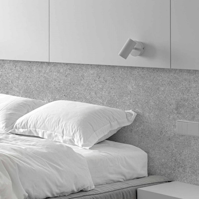 Habitat Cement - Self-adhesive eco-friendly PVC-free wallpaper for living rooms bedrooms halls nordic lokoloko gray