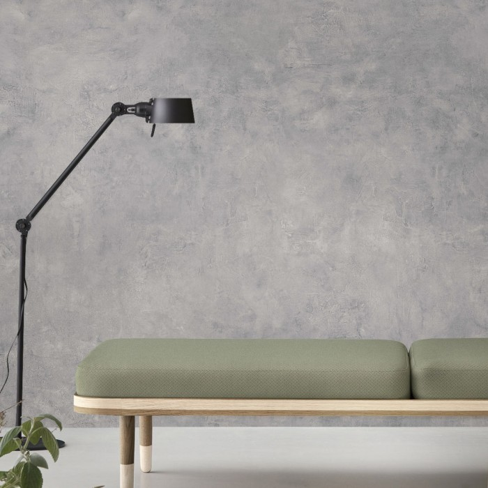 walden Cement - Self-adhesive eco-friendly PVC-free wallpaper for living rooms bedrooms halls corridors lokoloko gray