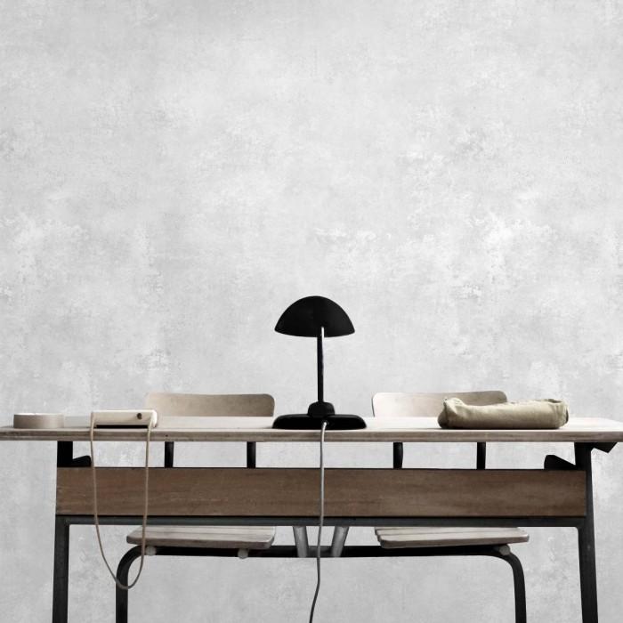Oiza Cement - eco-friendly sinpvc self-adhesive wallpaper livingroom office minimal japandi grey lokoloko