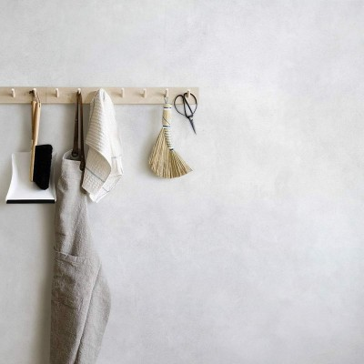 Minimal Grey Concrete - Self-adhesive eco-friendly PVC-free wallpaper for living rooms bedrooms halls corridors lokoloko