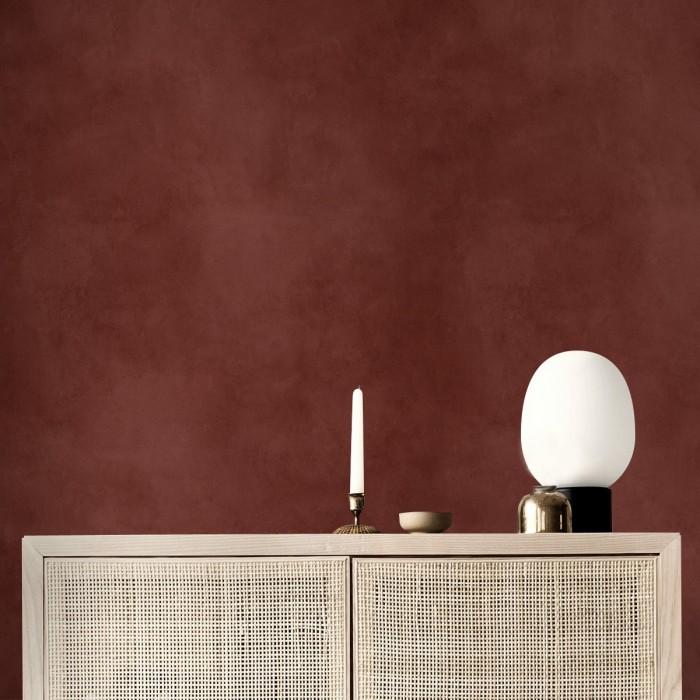 Dark red concrete - Self-adhesive eco-friendly PVC-free wallpaper for living rooms bedrooms halls corridors lokoloko