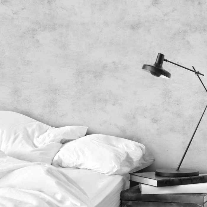 Light Grey Cement- Self-adhesive eco-friendly PVC-free wallpaper for living rooms bedrooms halls corridors lokoloko