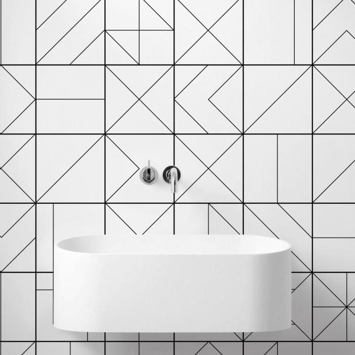 Vasili 2 - washable self-adhesive vinyl for furniture walls floors  bathroom kitchen