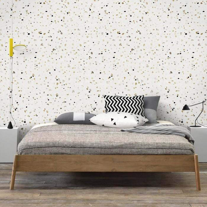 African Terrazzo - self-adhesive eco-friendly PVC-free wallpaper for living rooms bedrooms halls corridors lokoloko