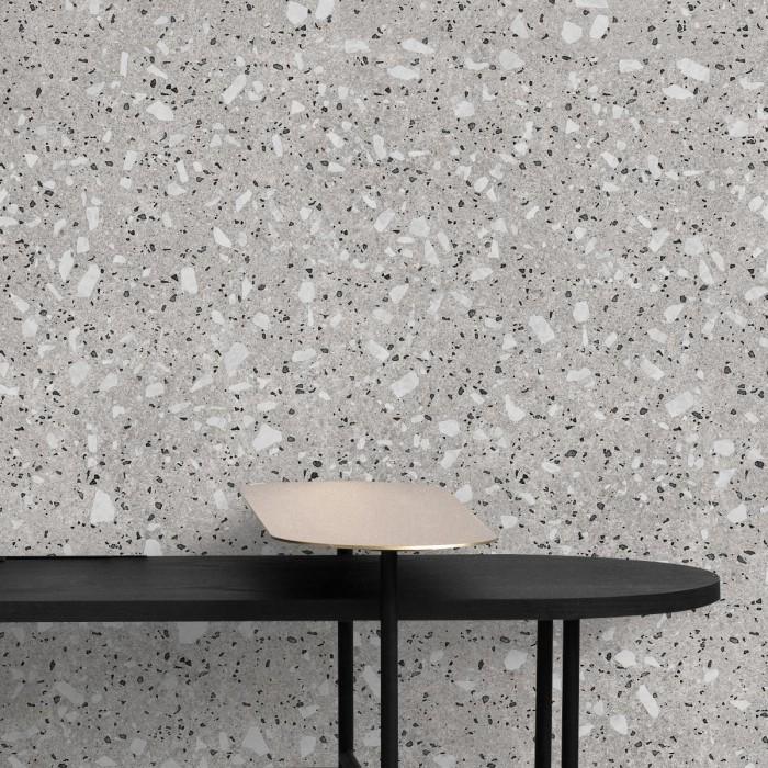 Croce Terrazzo - Self-adhesive eco-friendly PVC-free wallpaper for living rooms bedrooms halls corridors lokoloko