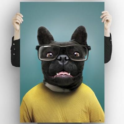 Cool Dog Model 1-poster-washable-for-exterior-interior-dog-decoration-fun-original-modern-style-lokoloko
