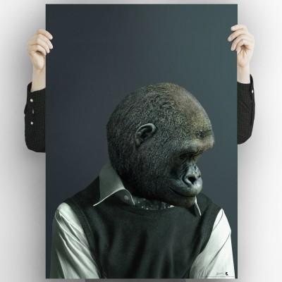 Gorilla model 2-poster-washable-high-quality-for-interior-exterior-decoration-modern-original-lokoloko