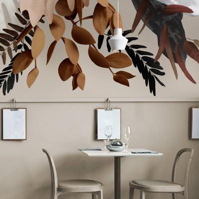 Glam - Vinyl Wall Mural self-adhesive eco pvc free vynil for walls and furniture restaurants lokoloko