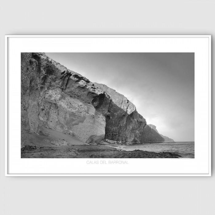 Coves of the Barronal BN almería-beach-cabo-de-gata-poster-washable-for-exterior-interior-walls-accessories-lokoloko