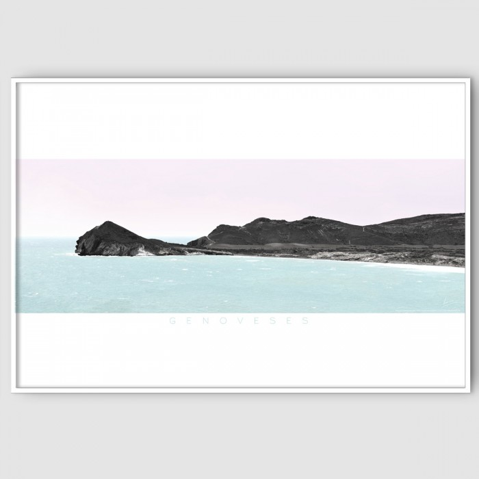 Genoveses 2 almeria-beach-cabo-de-gata-poster-color-washable-for-exterior-interior-walls-decoration-accessories-lokoloko