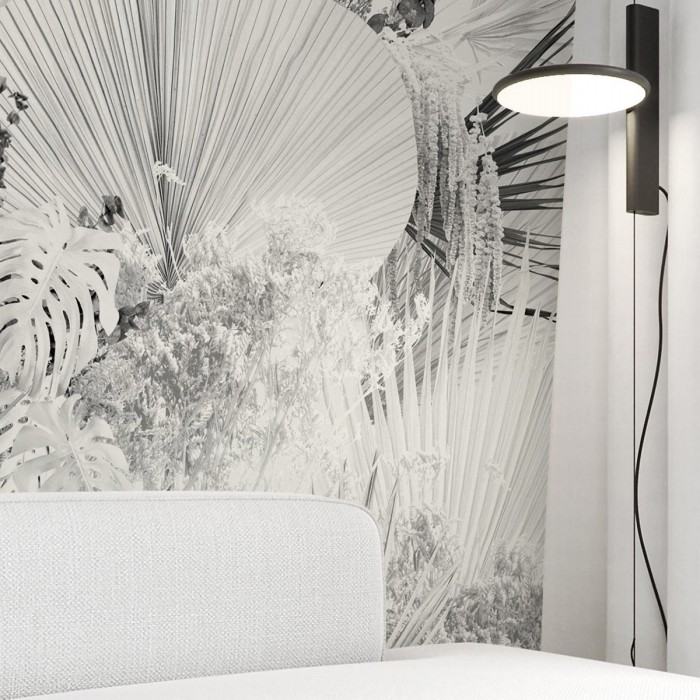 Blanca Dona - Eco-friendly self-adhesive wall paper mural without pvc walls living room hallway plant minimalism warm lokoloko