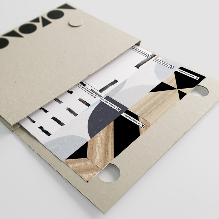 Ceramics & geometrics pattern samples folder