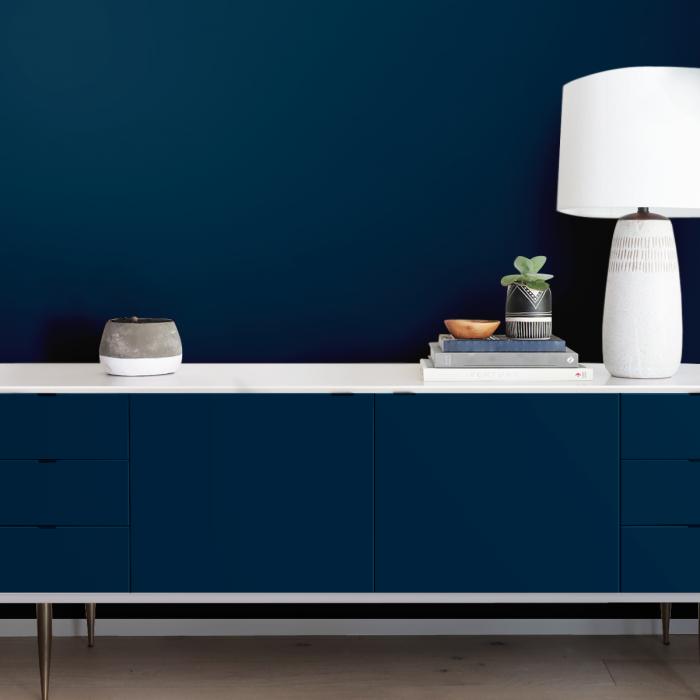 Dark blue - Self-adhesive vinyl for furniture, walls bedroom