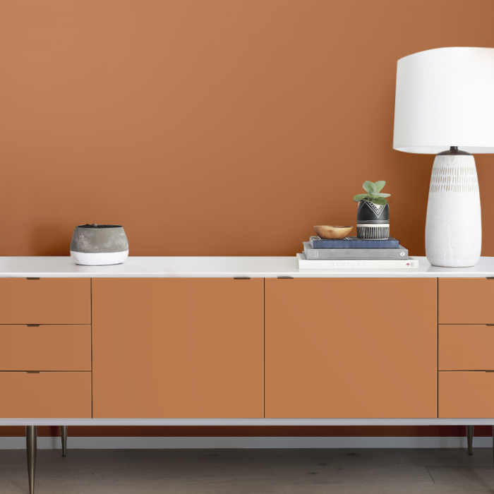 Earthy Sand - Opaque washable self-adhesive vynil for walls and furniture kitchen and bathroom. Lokoloko