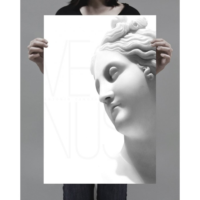 printing on photographic paper of the Venus sculpture