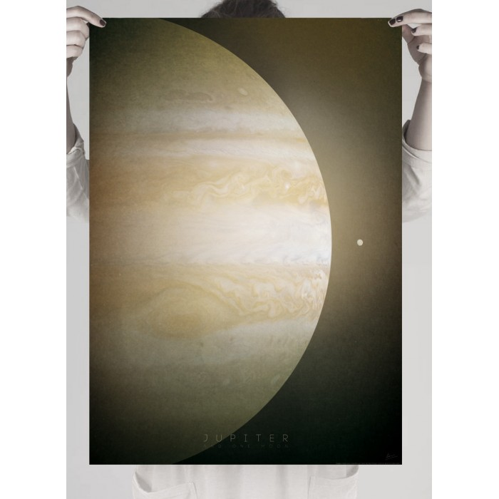 Poster of the planet more large solar system