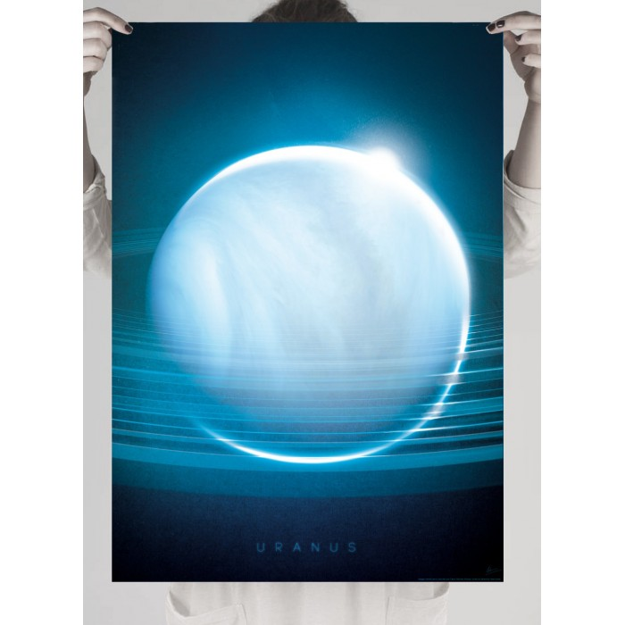 Photo poster of the planet Uranus