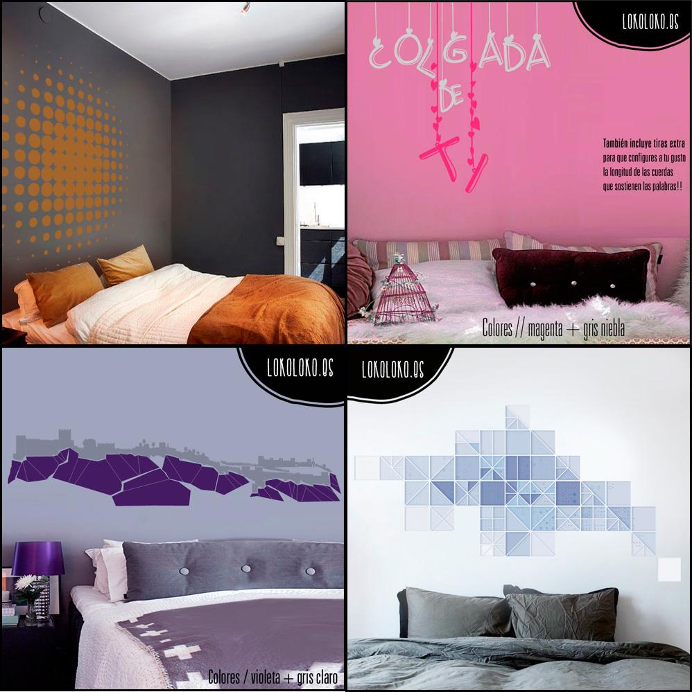 Cabeceros de vinilos para dormitorios - Vinilos de cabeceros ...