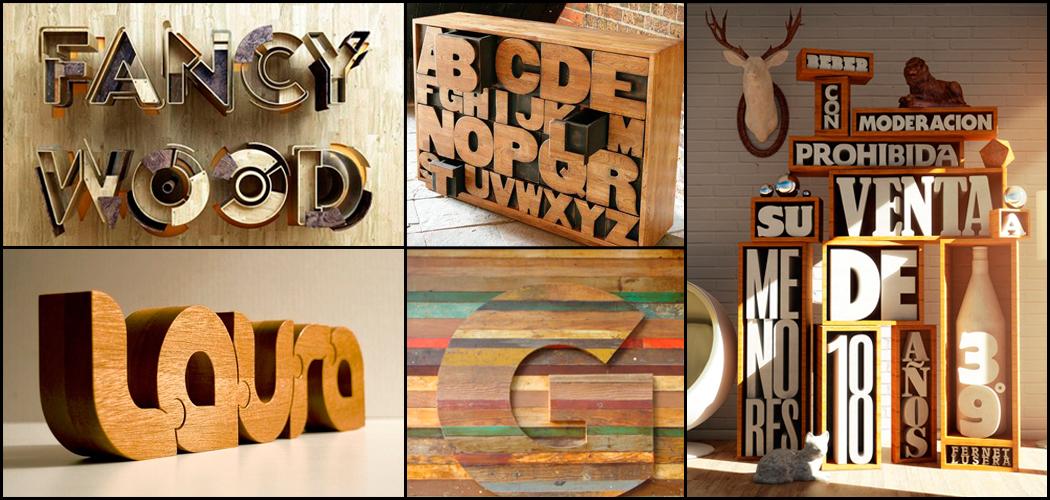 Decorar con letras - Casa letras madera ...
