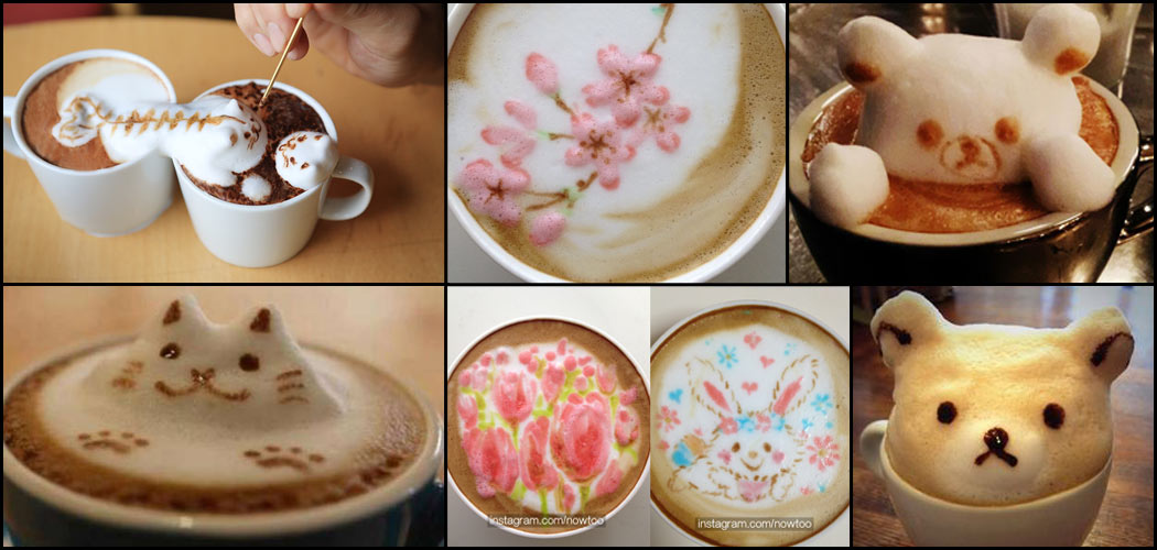 3d latte art o c mo decorar tu caf de forma art stica for Decoracion de unas cafes