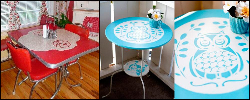 Vinilos adhesivos muy originales para decorar cocinas - Vinilos para mesas ...