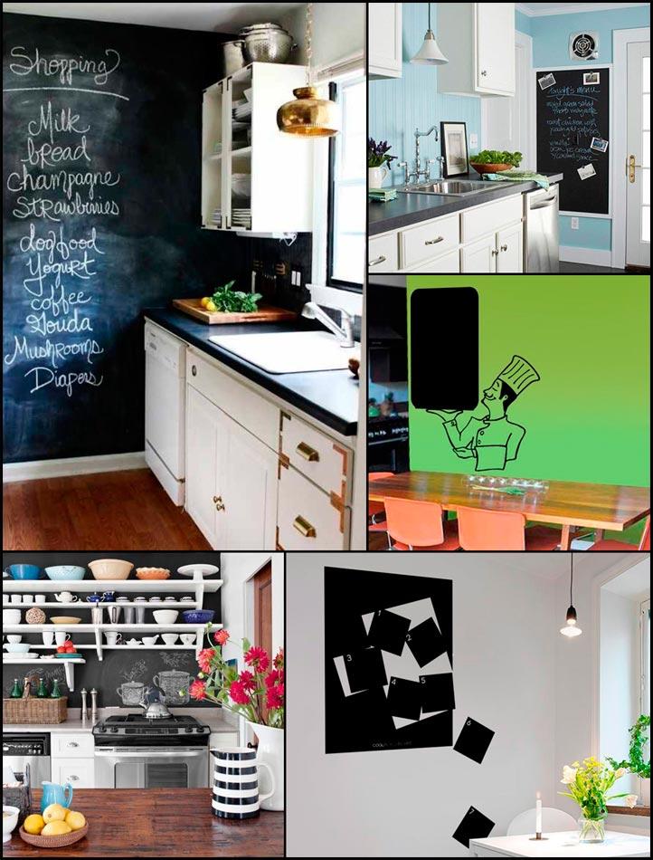 Vinilos adhesivos muy originales para decorar cocinas - Cocinas con vinilos decorativos ...