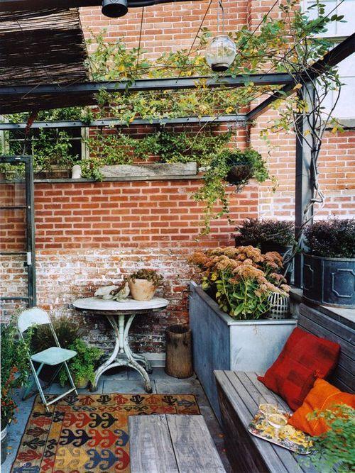 Decoraciones de terrazas peque as en verano insp rate for Terrazas vintage