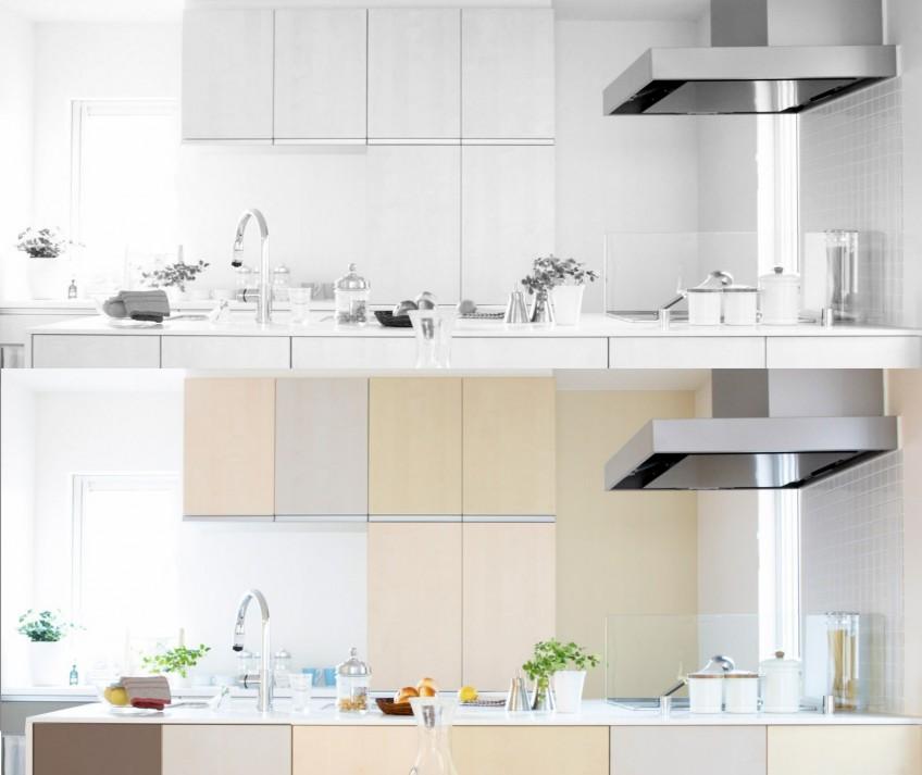 Vinilos decorativos por metros para renovar tu cocina - Cocinas con vinilos decorativos ...